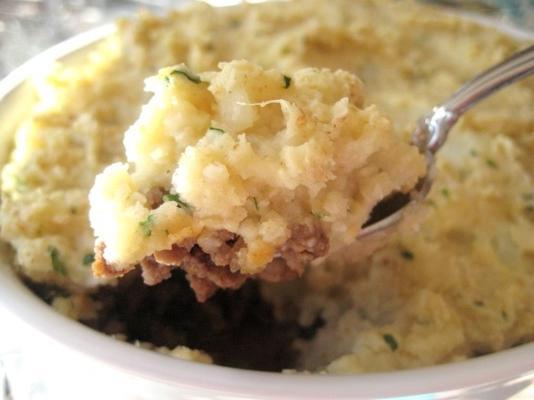 crioulo de carne com batata puffs