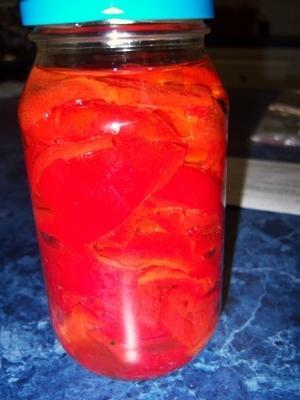 capsicum vermelho assado