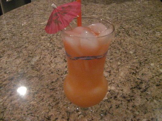 ponche festa hooch (mistura de rum frutado booze-cruzeiro)