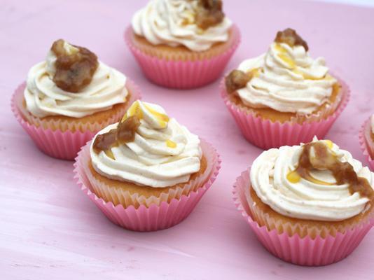 bananas fomentam cupcakes