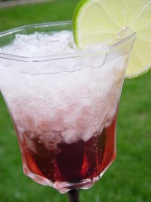 blush báltico (creme de cassis blush)