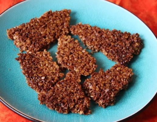 biscoitos de aveia de gengibre / cookies / cunhas