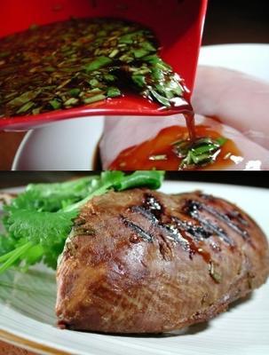 marinada asiática simples para frango
