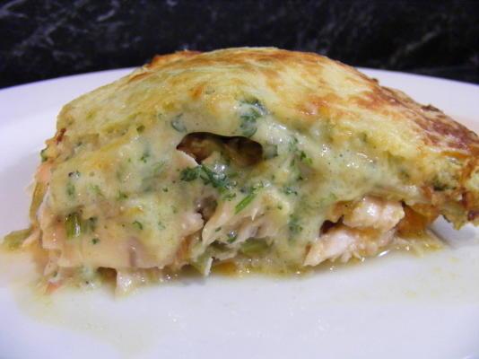 lasanha com salmão fresco e mascarpone