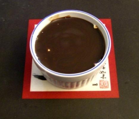 mordidas de cheesecake de chocolate congelado