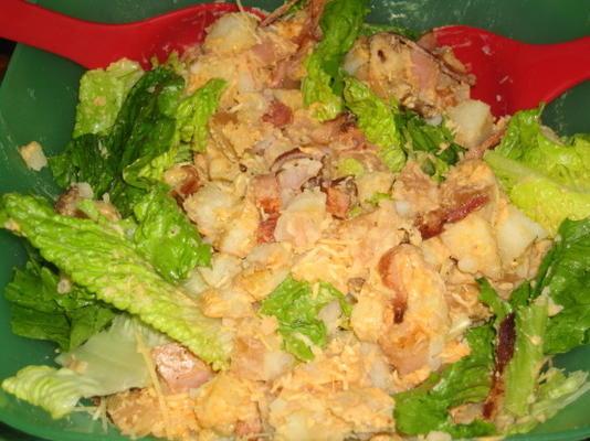 salada de batata morna caesar