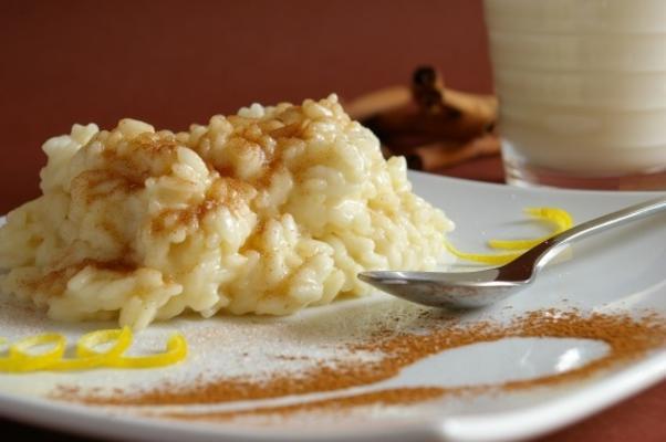 risoto de leite (arroz de leite