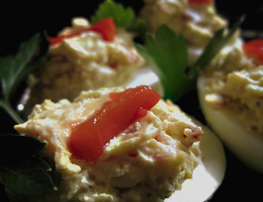 deliciosamente ovos diabólicos