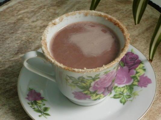 guarnição de açúcar temperado para bebidas quentes