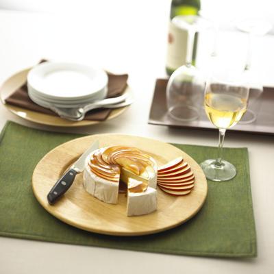 alouetteandreg; receita de brie de maçã caramelo