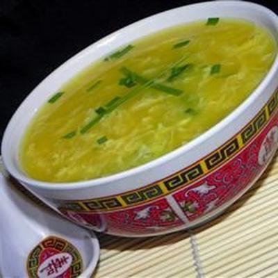 chi tan t'ang (sopa de sopa de ovo)