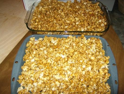 caramelo de milho (com amendoim)