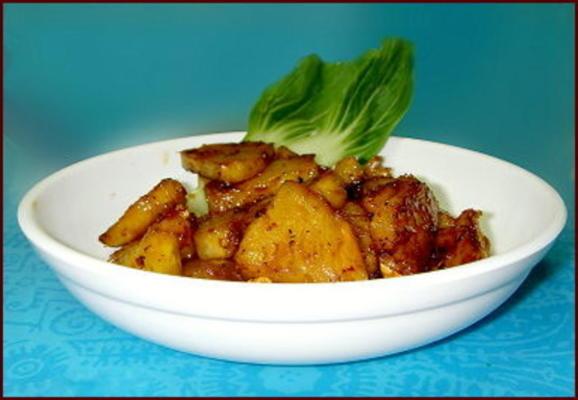 picles de abacaxi picante (acar nenas)