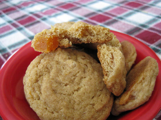 biscoitos de damasco picados de sarah