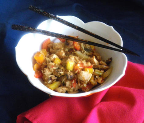 arroz frito de frango 3