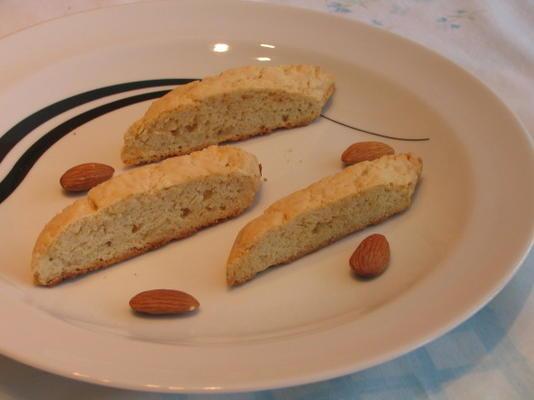 biscotti de amêndoa dupla