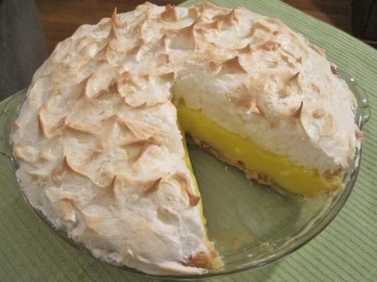 torta de merengue de limão (9 polegadas)