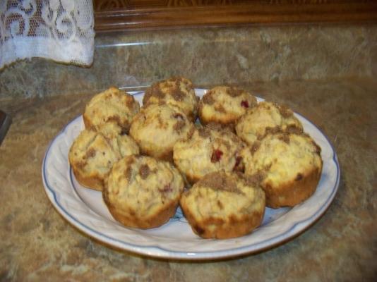 muffins de polenta laranja sem açúcar