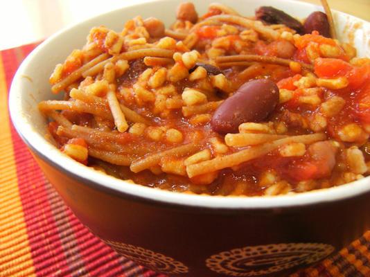 arroz de feijão taco a roni