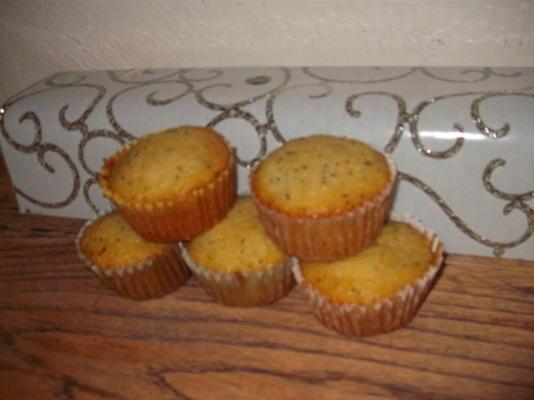 bolo de abobrinha limão com semente de papoula