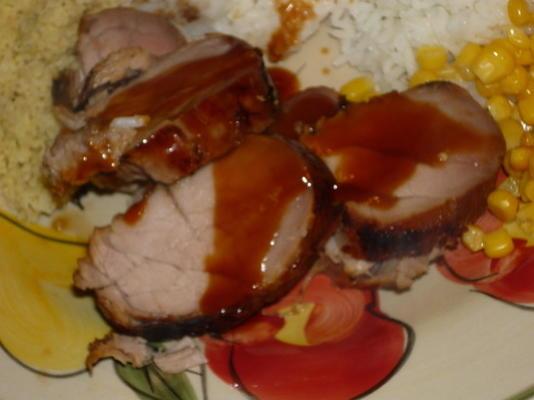 lombo de porco teriyaki (simples!)