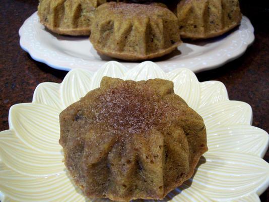 muffins de especiarias de abóbora de inverno