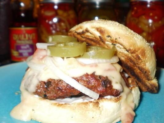 cheeseburger de bacon tex-mex