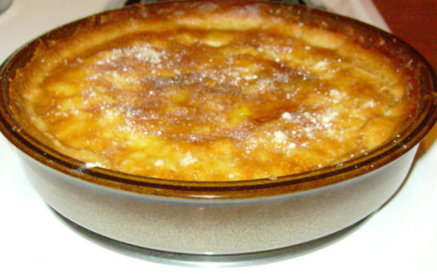 tarte au sucre brun