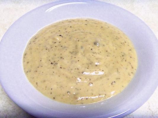 molho de parmesão de pimenta rachada