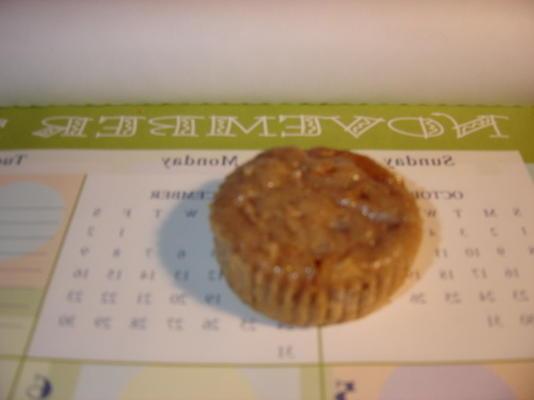 muffins de caramelo de maçã