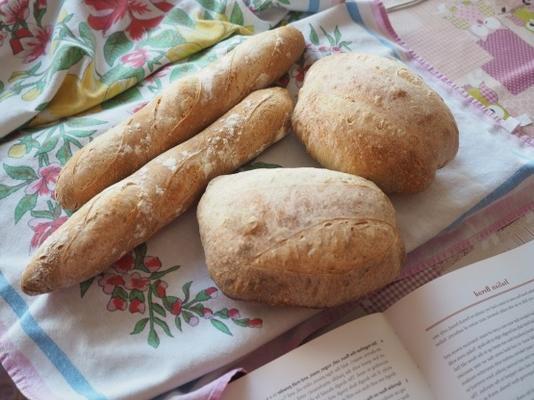 pães sourdough nápoles, itália