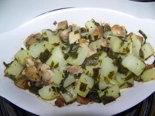 fácil frango kiev tigelas de batata sp5