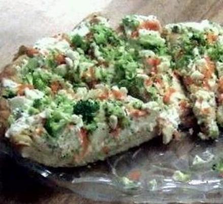 Pizza vegetal refrigerada saudável rsc