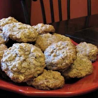 cookies de aveia farmstyle à moda antiga