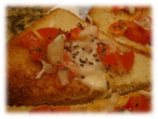 bruschetta al pomodro e basilico