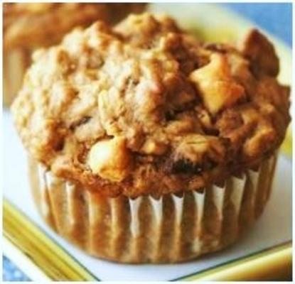 muffins de medley vegan