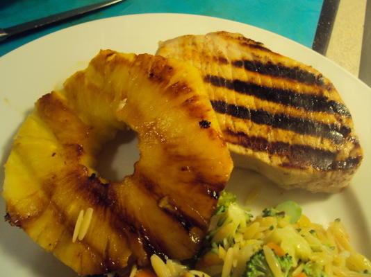 porco marinado de abacaxi