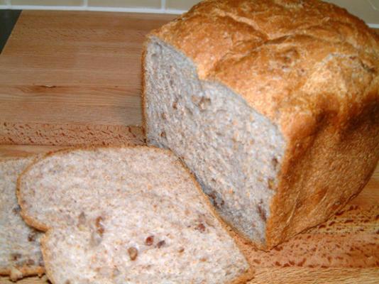 pão de maple e pecan para máquina de pão