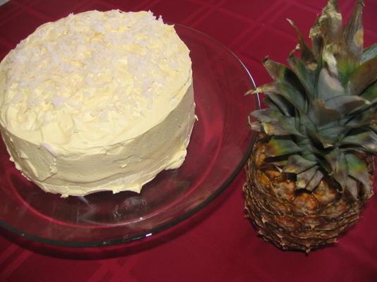 bolo de hula hula w / cobertura de chicote legal