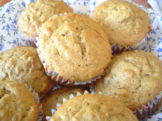 muffins de farelo de harriet