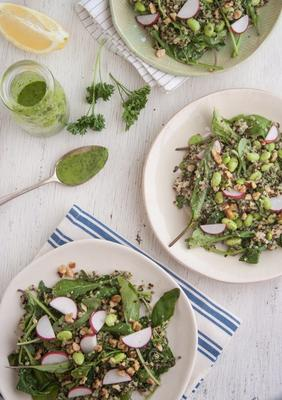 salada de quinoa deusa verde