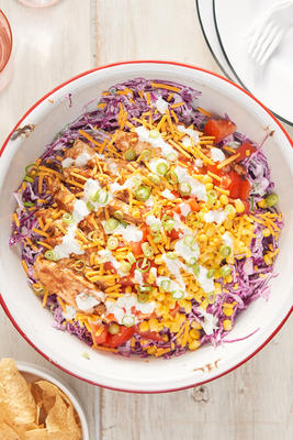 salada de frango picado