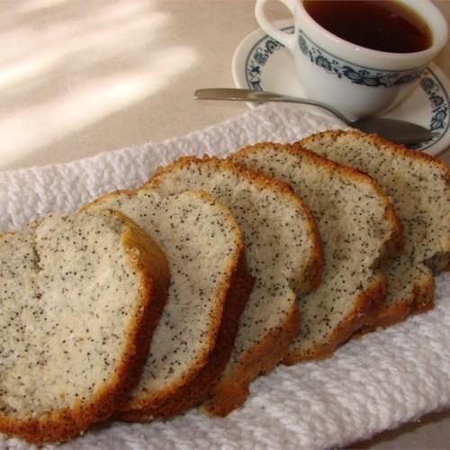Pão de sementes de papoula iii