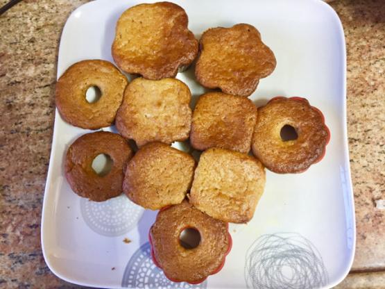 Muffins de compota de farinha de amêndoa