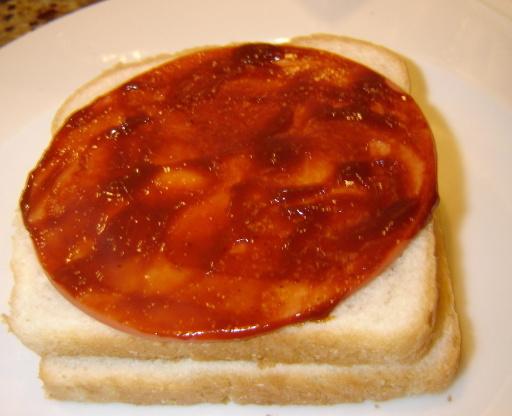 Sanduíche de bolonha assada