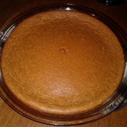 Torta de abóbora impossível bisquick