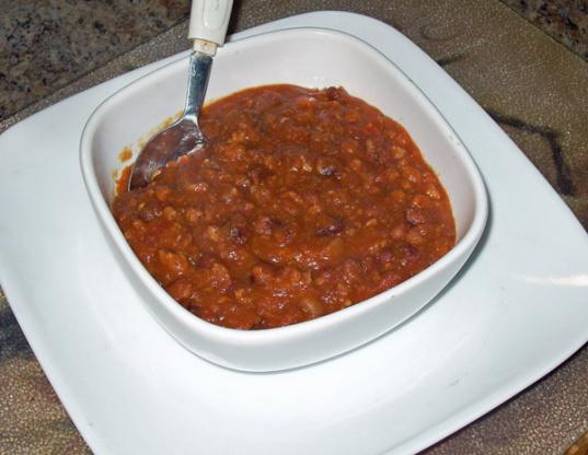 Pimentão do feijão do anasazi do cozinheiro joey (panela de pressão)